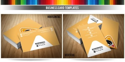 Audio Code - Business Card Template