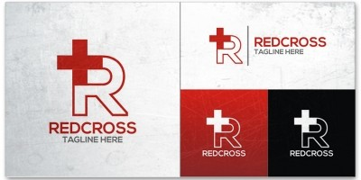 Red Cross Logo Template