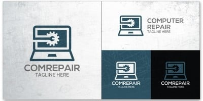Computer Repair Logo Template