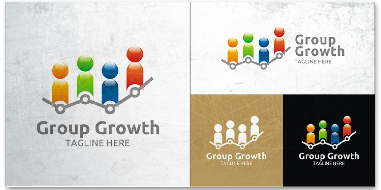 Group Growth - Logo Template