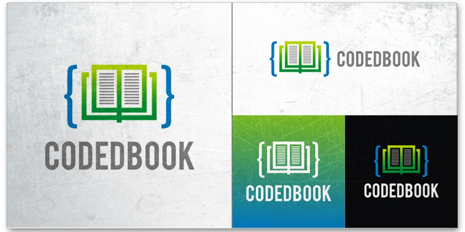 Coded Book - Logo Template
