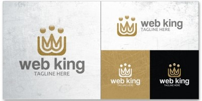 Web King - Logo Template