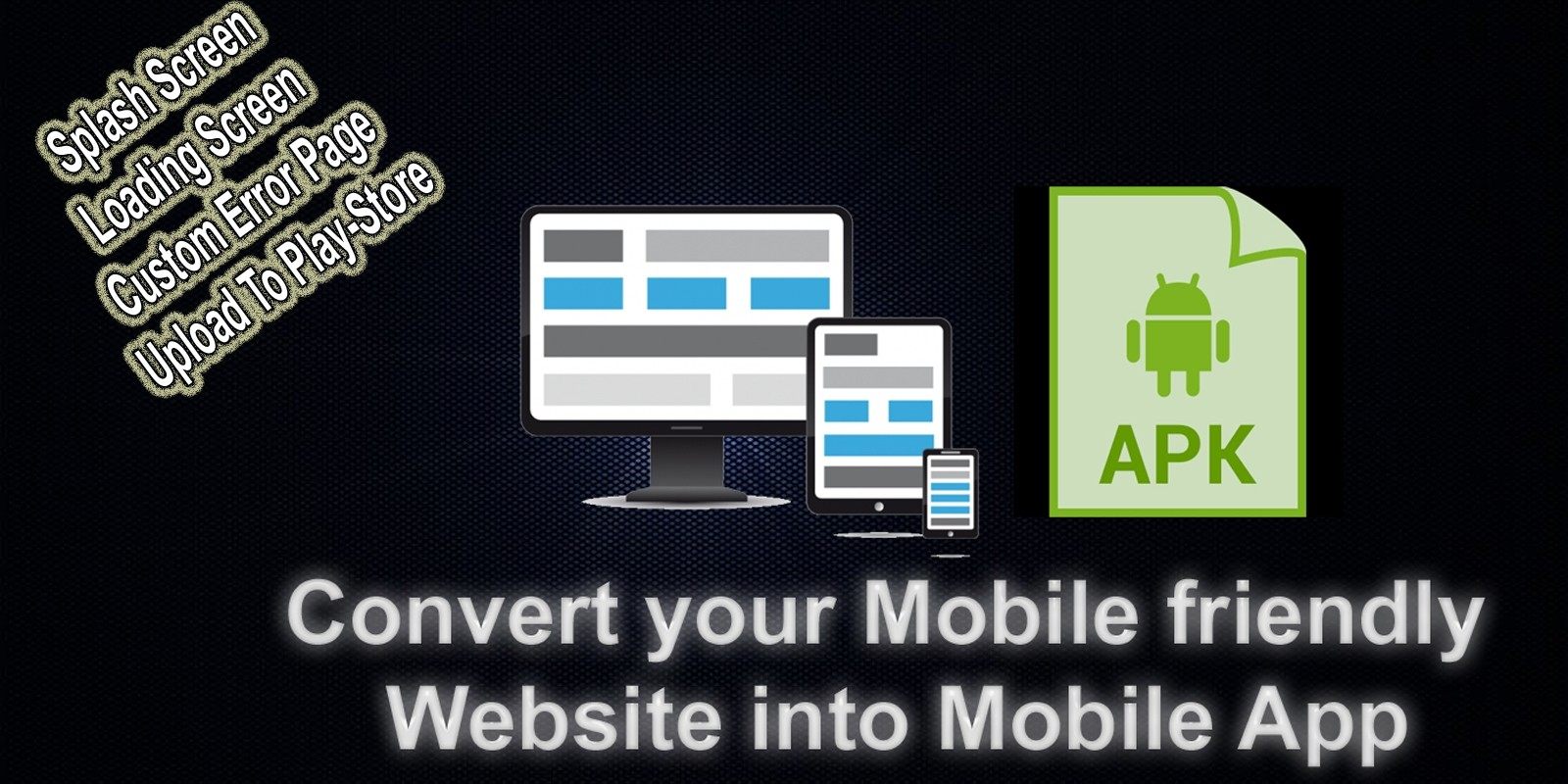Convert Website To App - Android Webview Template