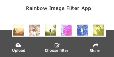 Rainbow - Image Filter PHP Script