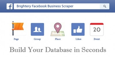 Brightery Facebook Business Scraper PHP Script