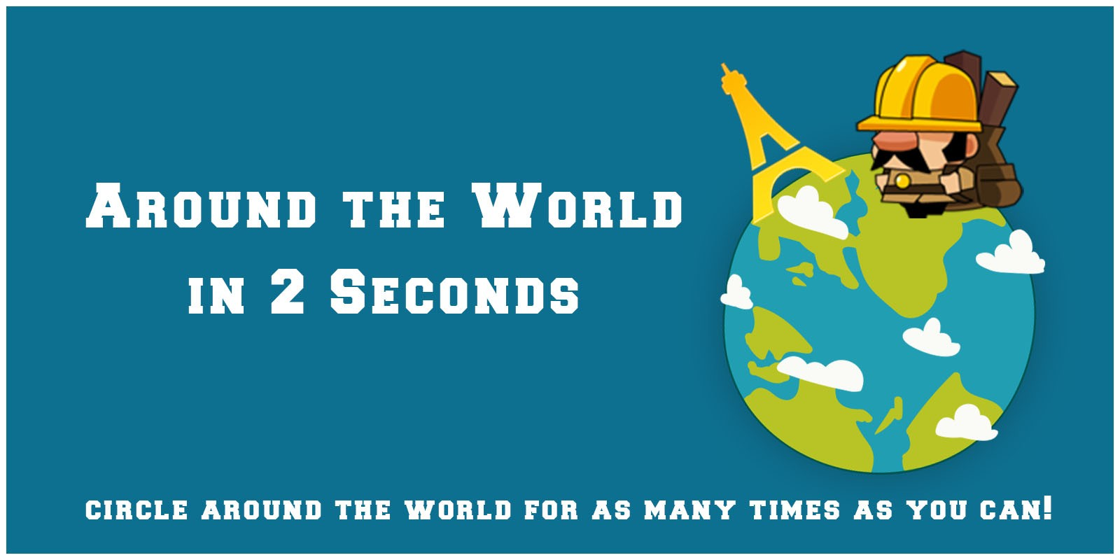 Around the World in 2 Seconds  - Unity Source Code