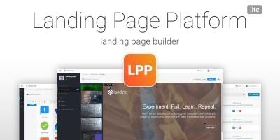 Landing Page Platform Lite PHP