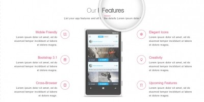 AppyFic - Bootstrap App Landing Page Template