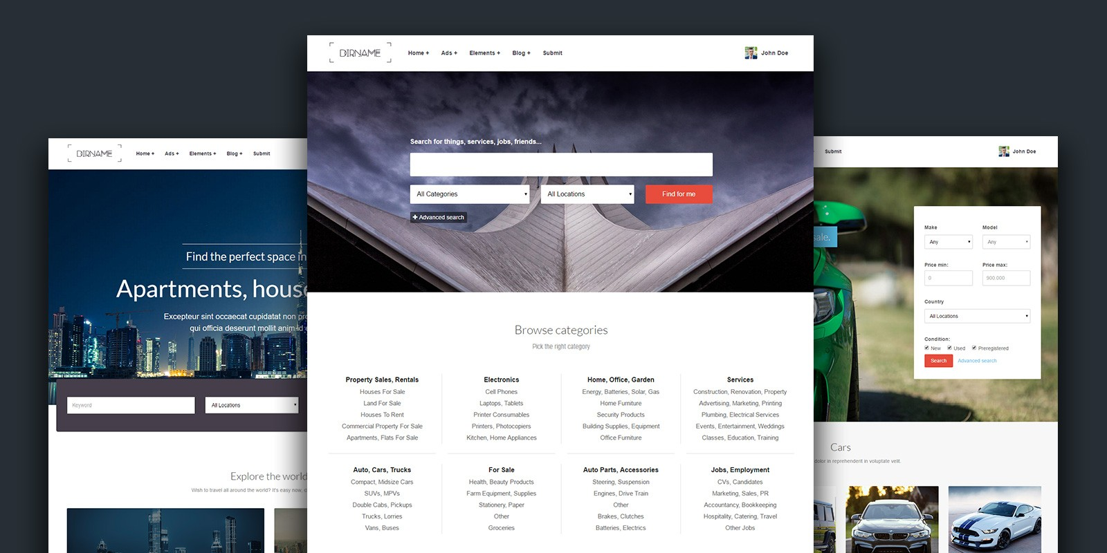 DirName - Directory HTML Template