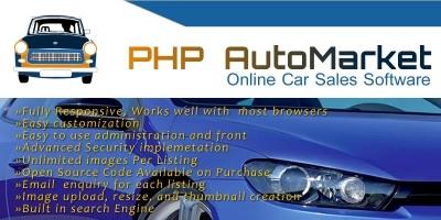 PHP AutoMarket - Car Marketplace PHP Script