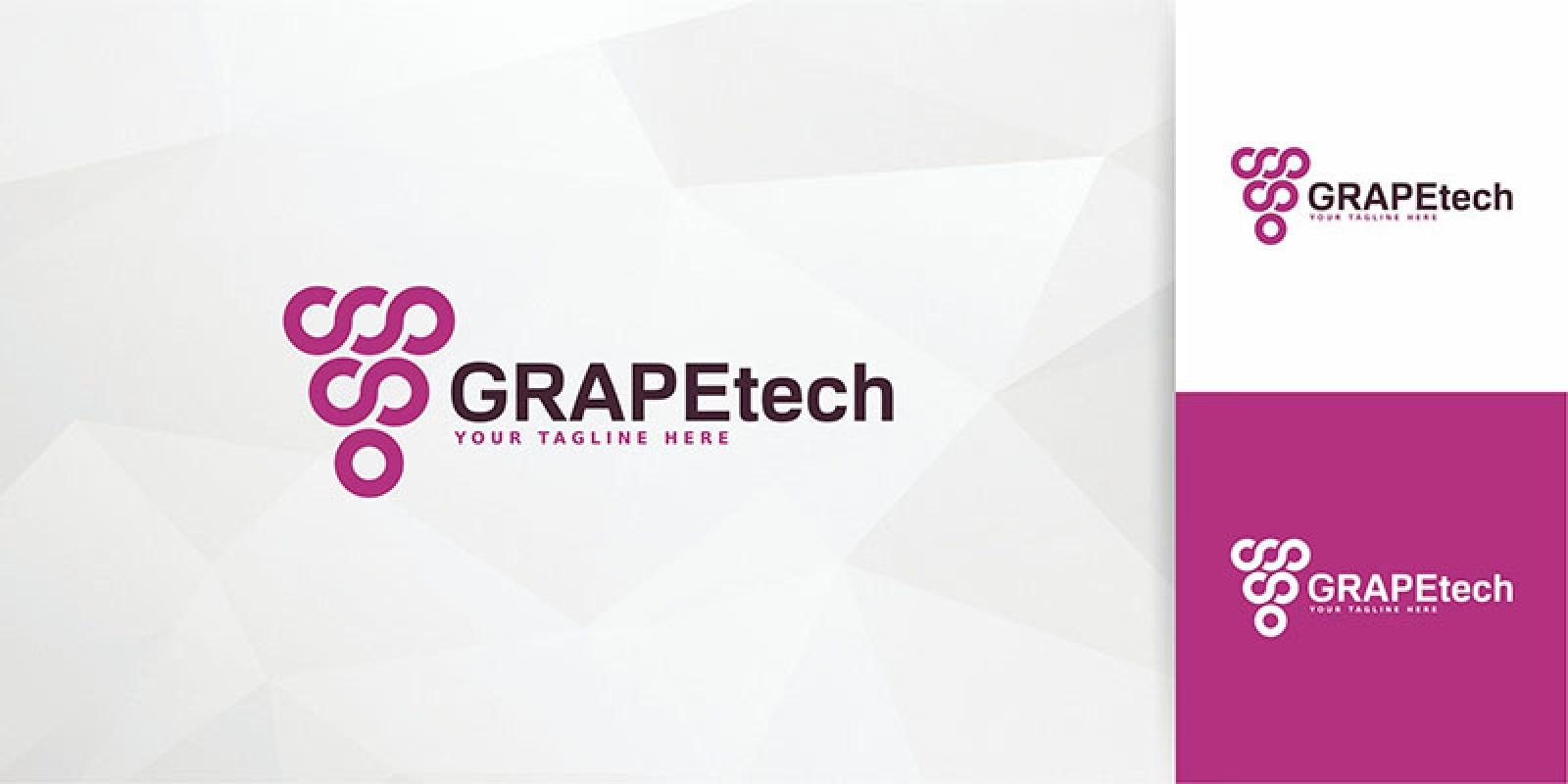 GrapeTech Logo Template