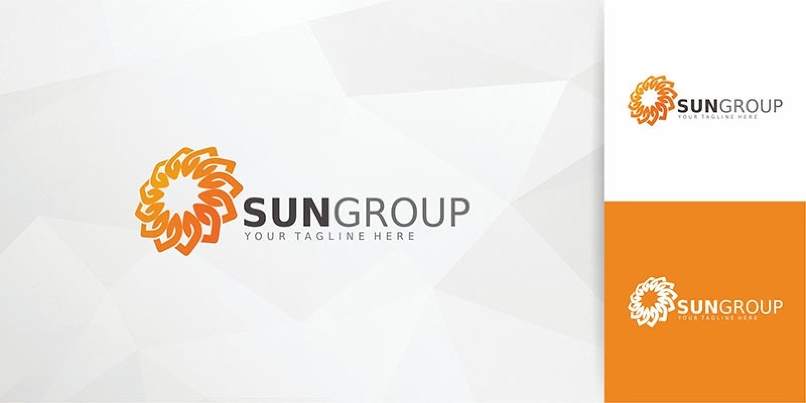SunGroup Logo Template