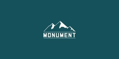 Monument Mountain - Logo Template