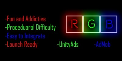 RGB - One Touch Unity Game Source Code