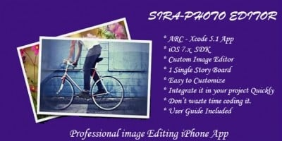 SIRA - Photo Editor for iOS