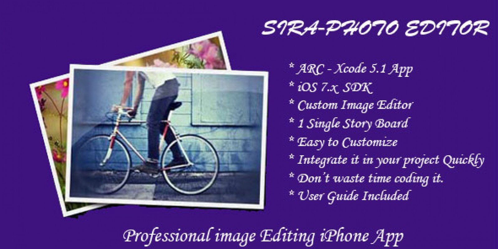SIRA - Photo Editor for iOS