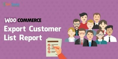 Woocommerce Export Customer List Report Plugin