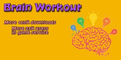 Brain Workout - Android Game Source Code