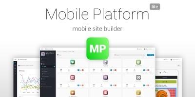 Mobile Platform Lite - Mobile Site Builder PHP