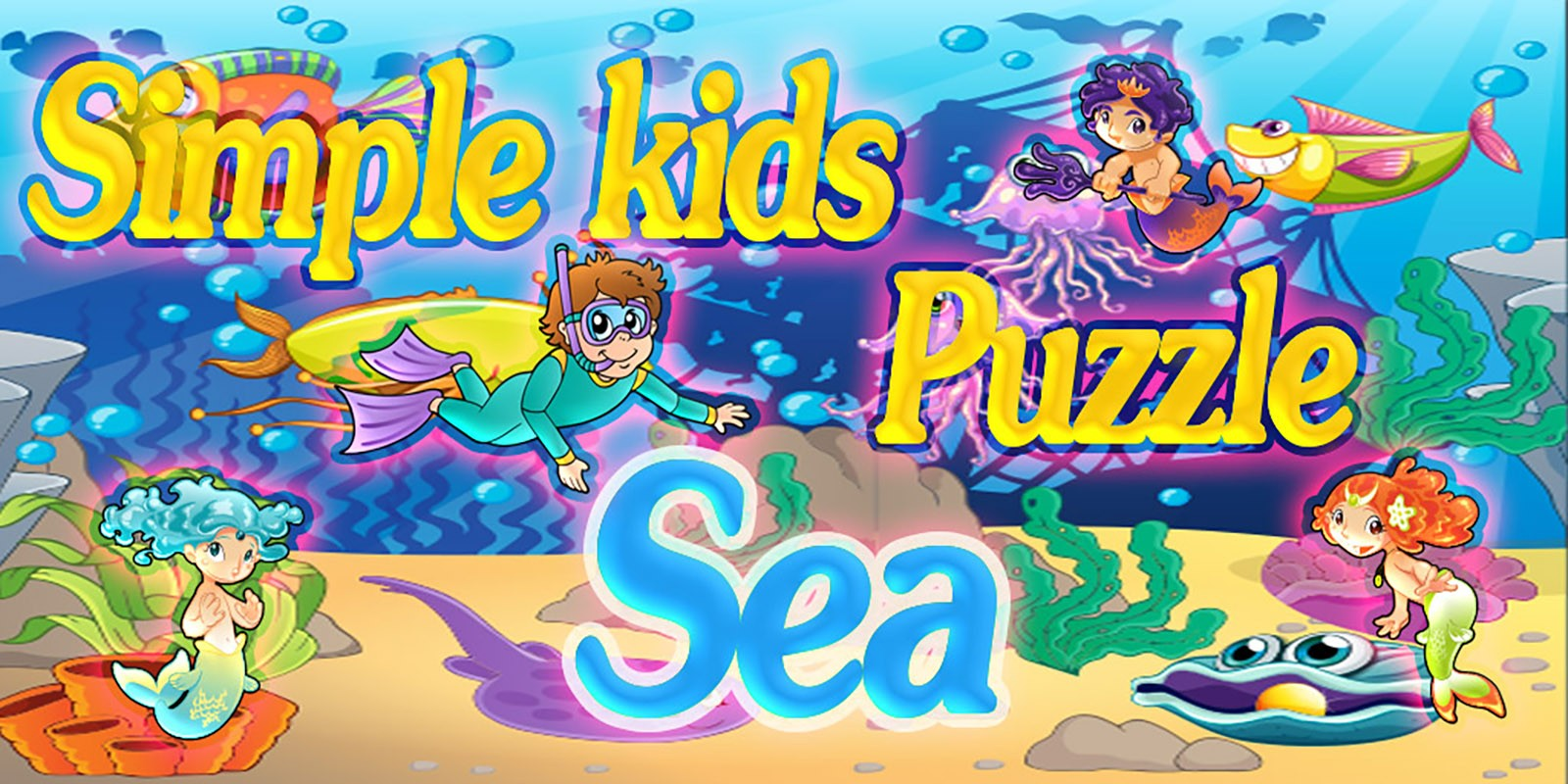 Simple Kids Puzzle Sea