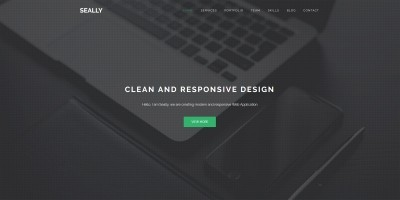 Seally - One Page Multipurpose HTML Theme