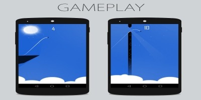 Sky Blue - Buildbox Android Game Template