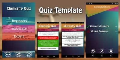 quiz and trivia app templates for android codester