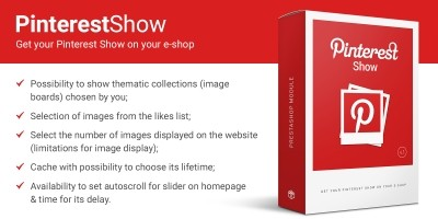 Pinterest Show - Images Feed PrestaShop Module