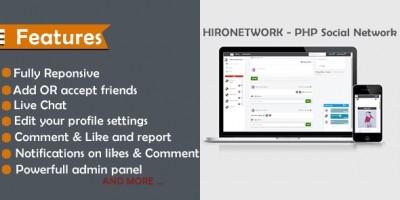 Hironetwork - Social Network Platform