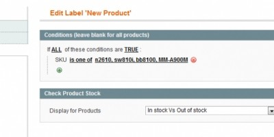 Product Labels - Magento Extension
