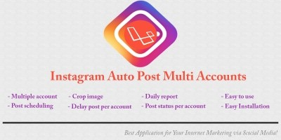 Instagram Auto Post Multiple Account Scheduling