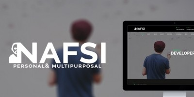 Nafsi - Responsive Personal vCard Template