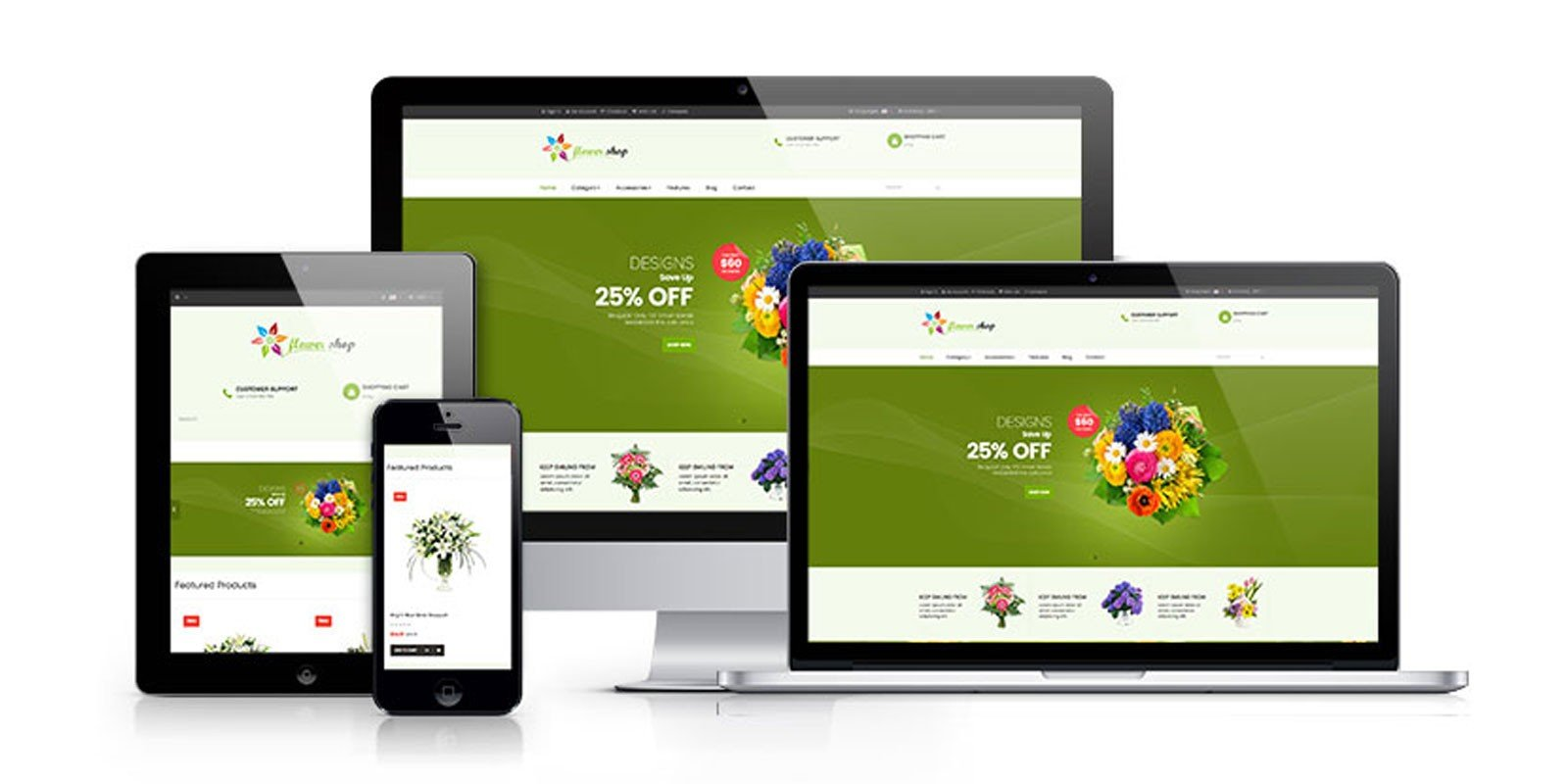 Ap Flower Shop Prestashop Theme
