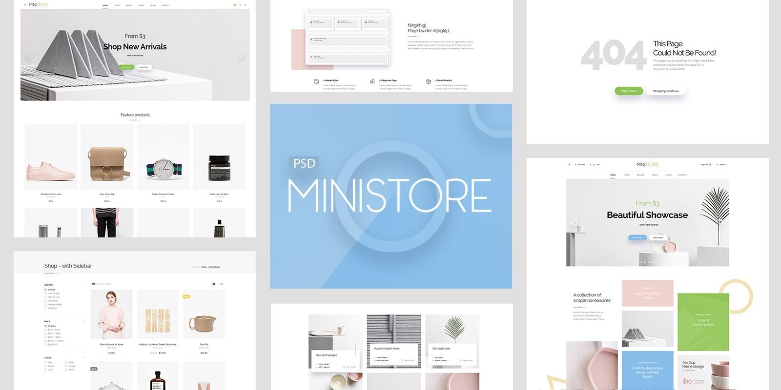 Pts Ministore - PrestaShop Theme