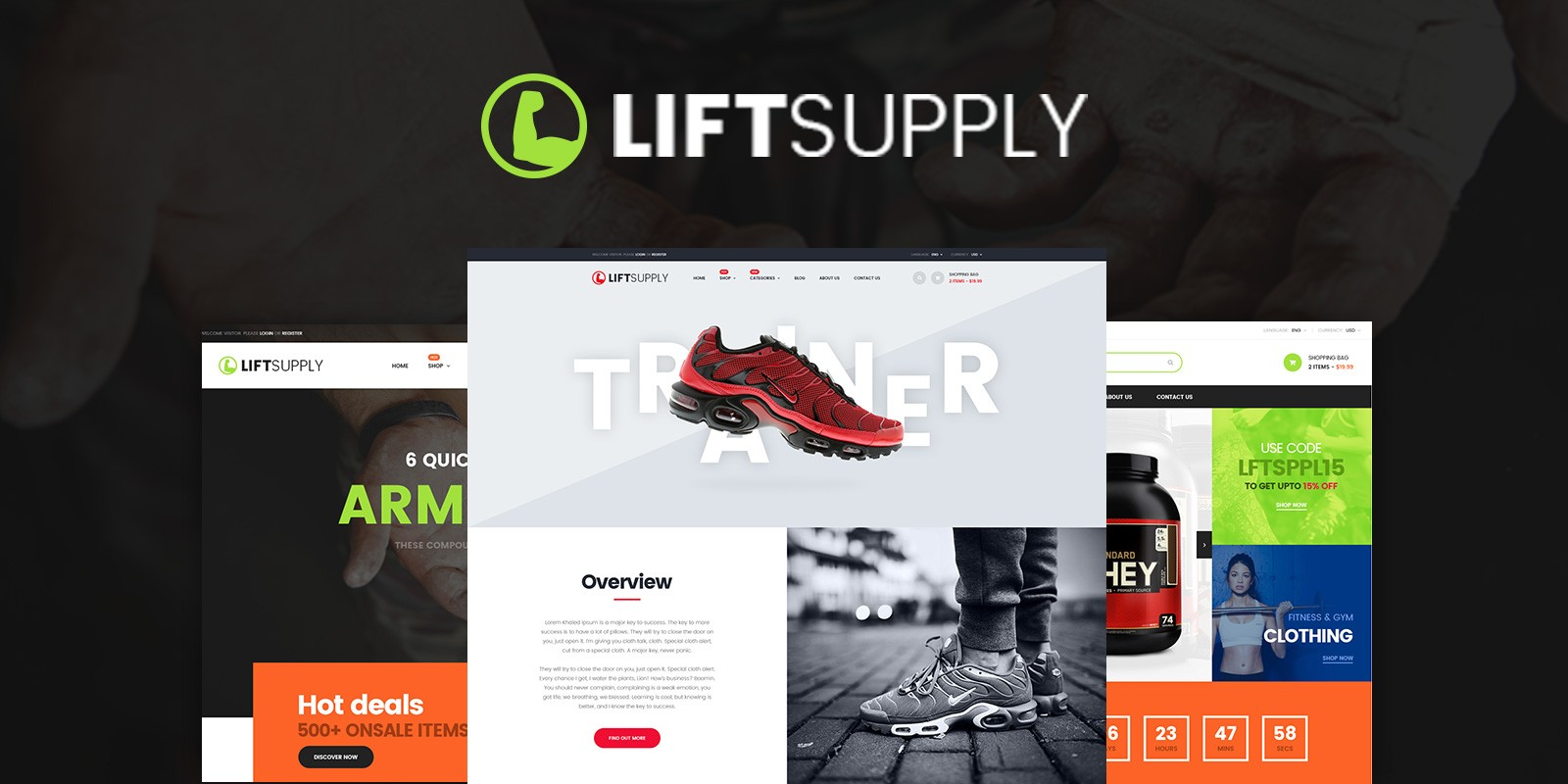 Pts LiftSupply - PrestaShop Theme