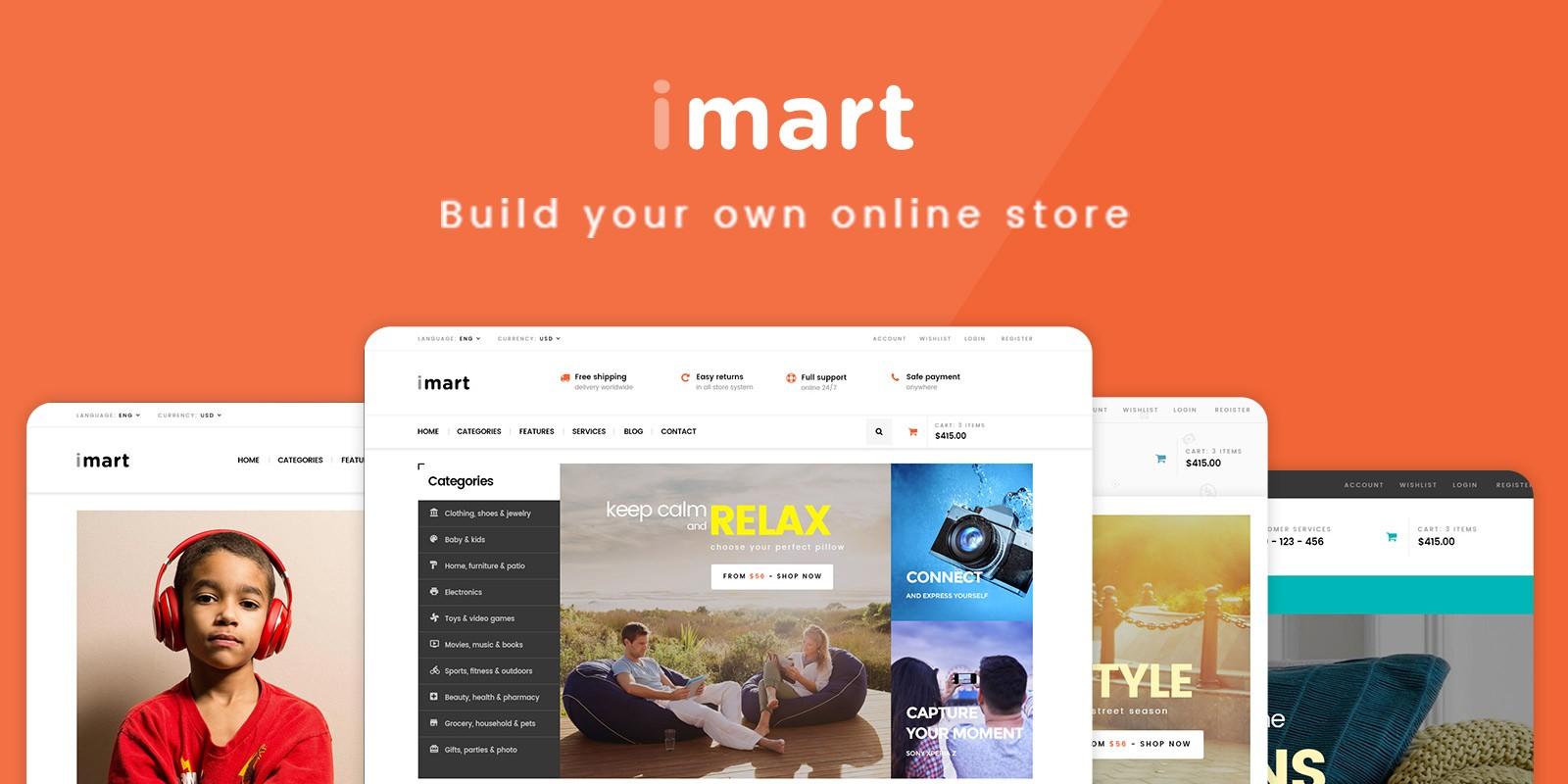 Pts iMart - PrestaShop Theme