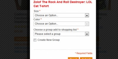 Shopping List - Magento Extension