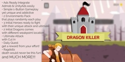 Dragon Killer Unity Game Source Code