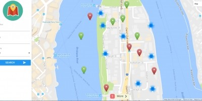 VideoMap - Geolocation Video Search Script