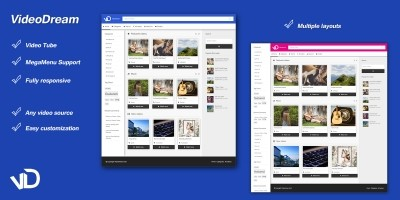 VideoDream - WordPress Video Theme