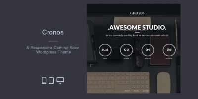 Cronos -  WordPress Coming Soon Theme