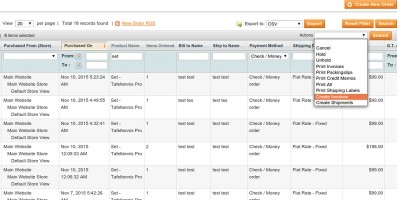 Order Processing - Magento Extension