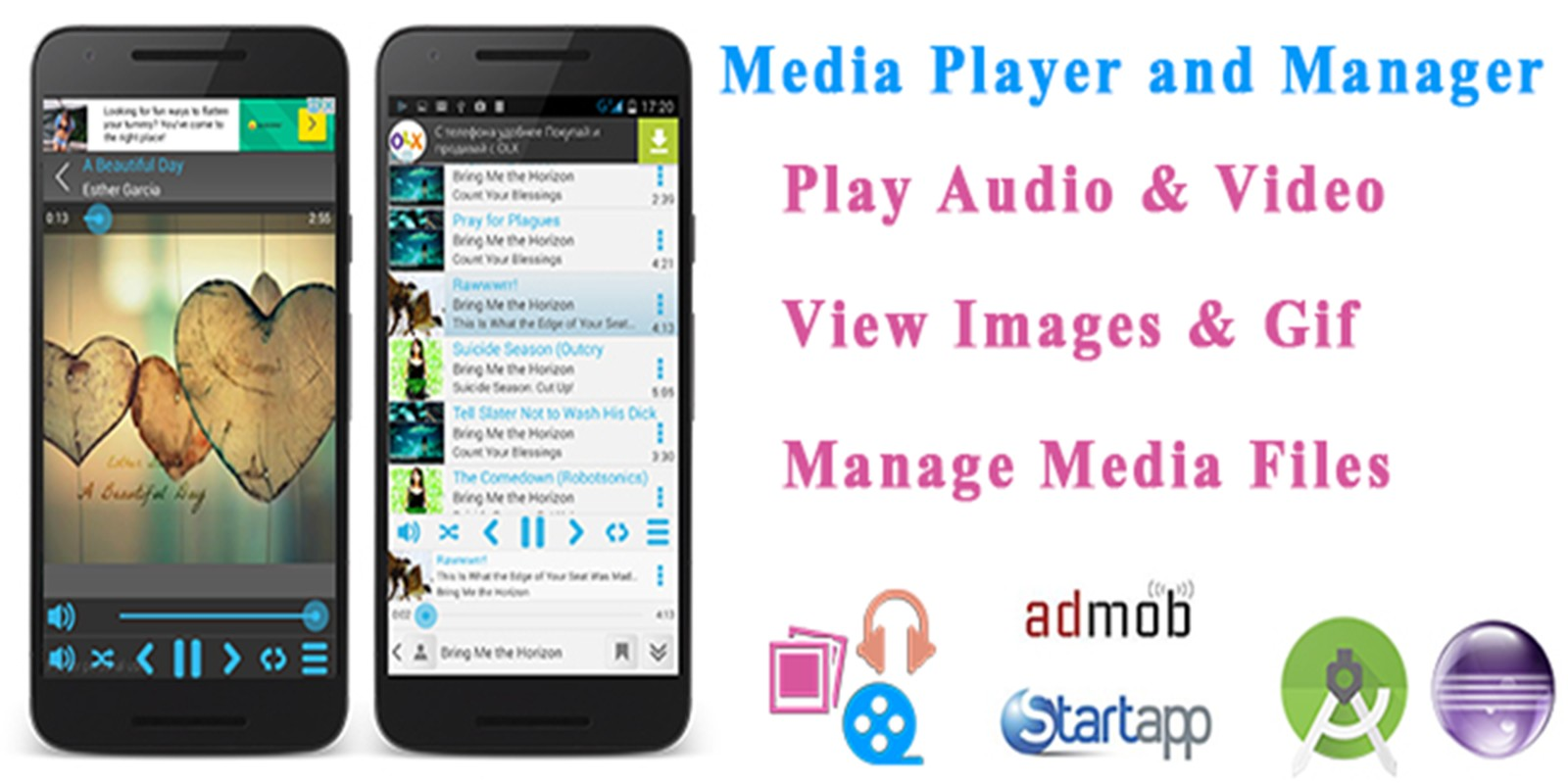 Media Player And Manager - Android Source Code