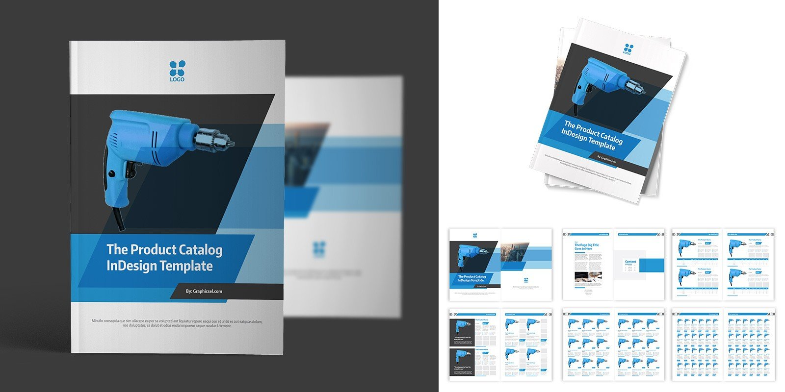 Product Catalog Indesign Template - Brochure Templates | Codester