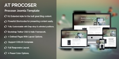 AT Procoser - Computer Repair Joomla Template