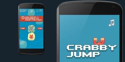 Crabby Jump - Construct 2 Template