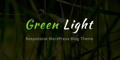 GreenLight - WordPress Blog Theme