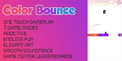 Color Bounce - Buildbox 2 Template