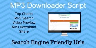 MP3 Downloader PHP Script