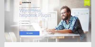 Catchers Helpdesk WordPress Plugin
